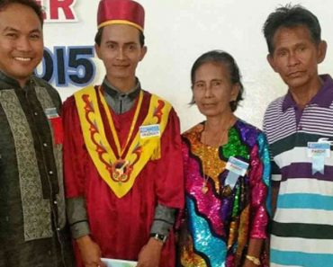 Badjao Graduates Magna Cum Laude