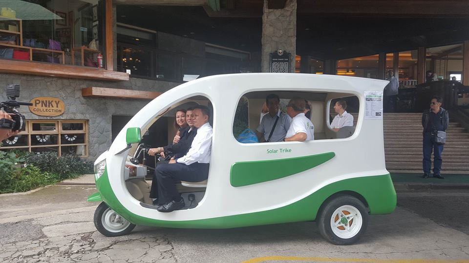 baguio city solar tricycle 2