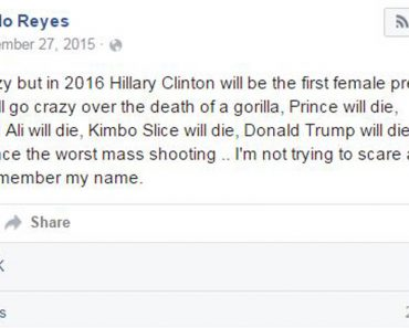 Guy Fools Thousands On Facebook With His Accurate 2016 'Predictions'