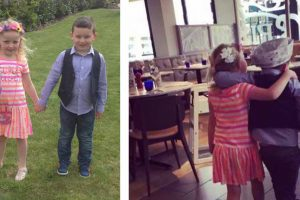 """5-Year-Old Boy Takes His 'Best Friend"""" For A Romantic First Date"""