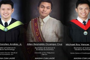 Barkada Goals: Three Friends Graduate Magna Cum Laude!