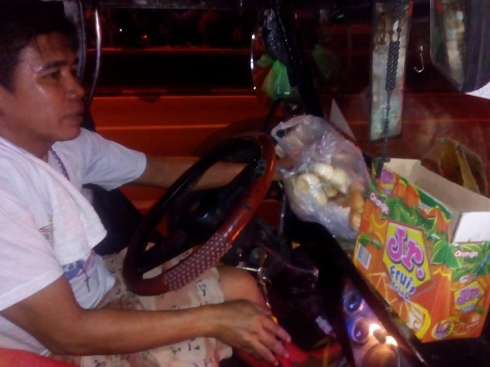 generous jeepney driver