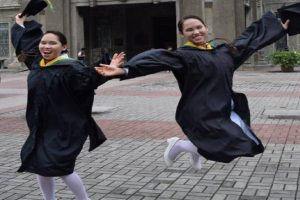 Twins Graduate Cum Laude from Nursing