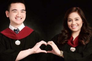 Couple Graduate with Latin Honors from UP College of Nursing