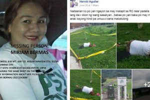 Family of Missing Woman Finds Her Dead Body in Separate Facebook Post