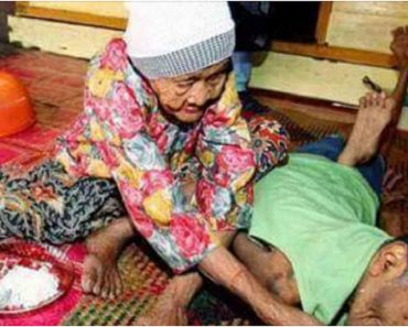 VIRAL: 101-Year-Old Mother Takes Care of 63-Year-Old Disabled Son