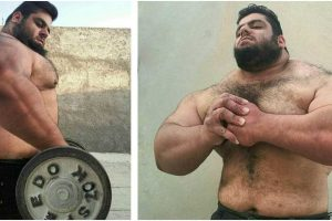 Massive Weightlifter Achieves Viral Fame As 'Iranian Hulk'