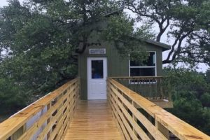 Boy with Cerebral Palsy Receives Wheelchair-Accessible Treehouse