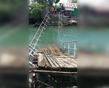 Foot Bridge 'Worth Php1 Million' Collapses in Iloilo City
