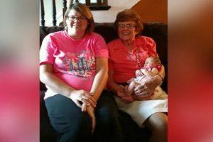 86-Year-Old Grandma Meets 86th Biological Great-Grandchild!
