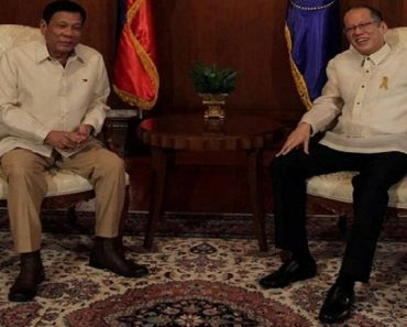 Duterte Thanks Aquino for Helping PH Win Case against China