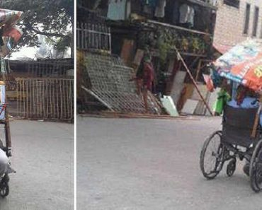 Disabled Vendor Goes Viral for Selling Buko Salad While on Wheelchair