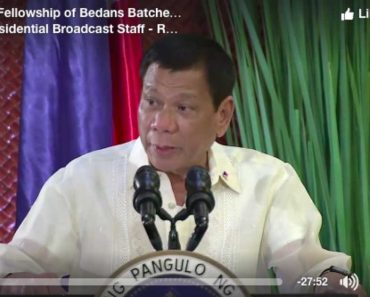 Duterte to Talk With China over Alleged Involvement of Chinese Nationals in Narcotics Trade