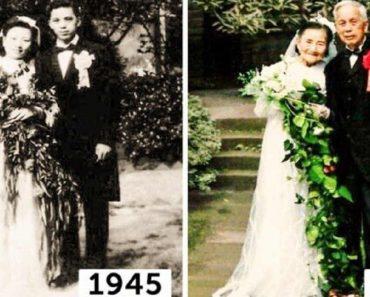 Old Couple Recreates Their Wedding on 70th Anniversary