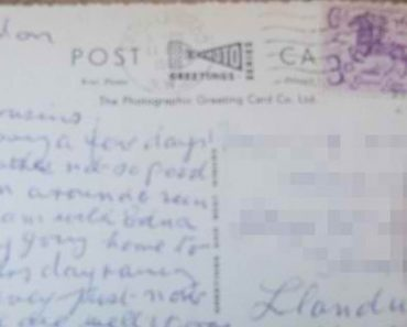 After 55 Years, This Postcard Sent In 1960 Finally Arrives