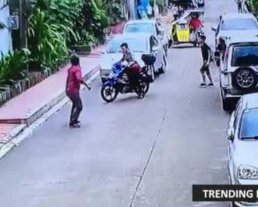 VIDEO: Driver Panics after Accidentally Running over a Boy in a Street in QC