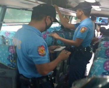 """Cops Launch Operation """"Spot Checking"""" on Buses to Deter Crimes along EDSA"""