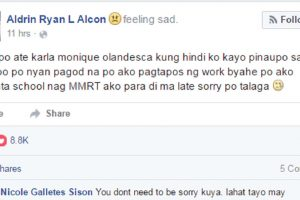 Guy in MRT Accused of Being 'Un-gentleman' Apologizes to Girl Who Shamed Him on Facebook