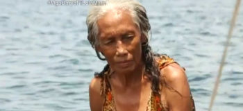 This 74-Year-Old Badjao Grandma Still Dives for Coins