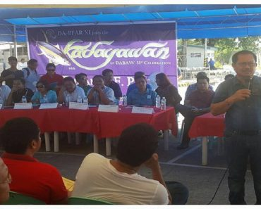 600 Fishermen in Davao City Receive Boats from the Department of Agriculture