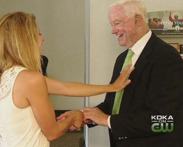 """Bride """"Given Away"""" by Recipient of Her Late Dad's Heart"""
