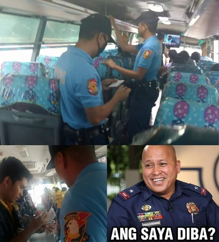 Photo credit: Facebook / PNP Chief Bato Dela Rosa
