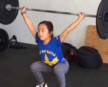 Meet Elle Hatamiya, The 11-Year-Old Weightlifter
