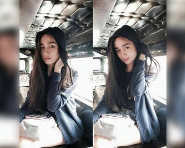 Beautiful Gay Jeepney Passenger Goes Viral after Being Mistaken for a Girl