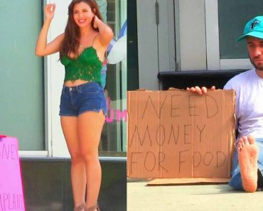 This 'Hot Girl VS Homeless Man' Social Experiment Will Break Your Heart
