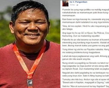 Journalist Shares Field Observations about So-Called 'Scared Citizens' in Duterte's Drug War