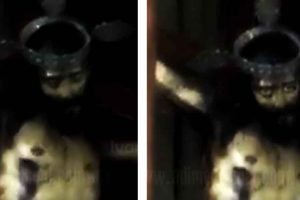 Viral Video Shows Jesus Christ Statue Opening Its Eyes During Church Service