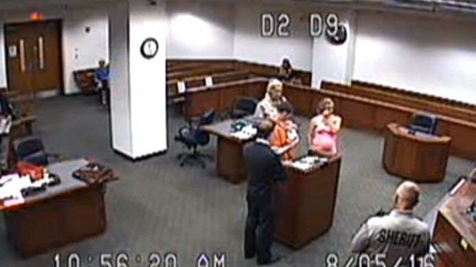 judge allows inmate to see baby 2