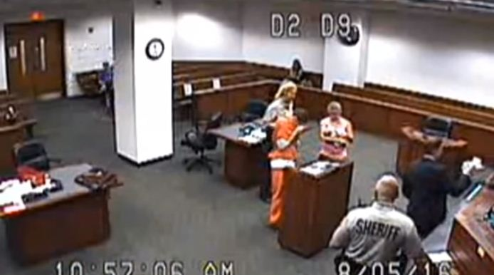 judge allows inmate to see baby 3