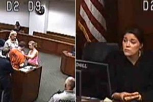 Heartwarming Video Shows Judge Allowing Inmate To See Baby For The First Time