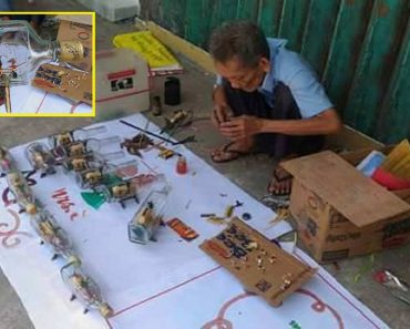 Old Man Makes Intricate Ornaments of Bahay Kubo inside a Bottle
