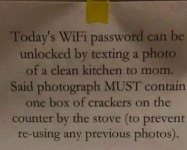 LOOK: How a Mom Made Sure Her Internet-Obsessed Kids Do Their House Chores