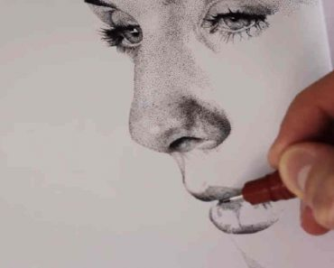 Artist Uses Dots to Create Awesome Masterpiece