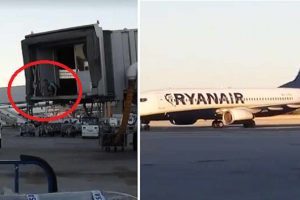 VIDEO: Man Breaches Security in Spanish Airport to Chase after His Plane Getting Ready for Take Off