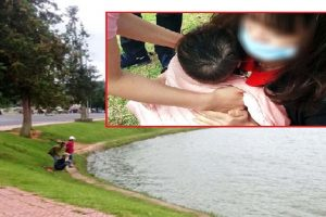 Baby in Stroller Nearly Drowns in Lake While Mom was Busy Looking for Pokemons
