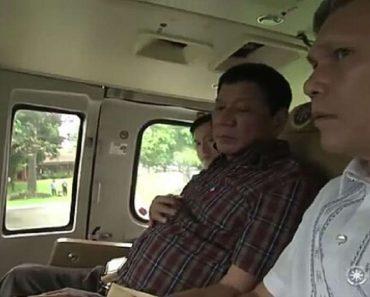 Duterte Uses Presidential Chopper to Personally Survey the Floods in Metro Manila