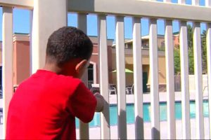 7-Year-Old Boy Saves 2-Year-Old Kid Drowning in Pool