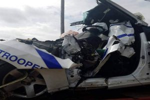 State Trooper Sacrificed Self to Stop Speeding Driver at Busy Highway