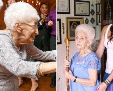 85-Year-Old Grandma Improves Posture with Yoga Therapy