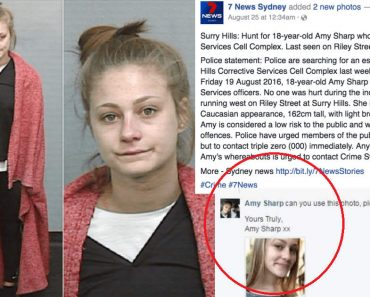 Escapee Caught after Requesting TV Station to Change Mugshot on Facebook Post