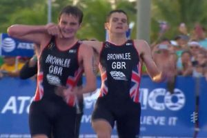 Big Brother Helps Collapsing Bro Win Second Place in Race