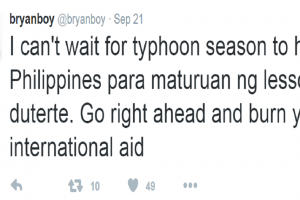 Fashion Blogger Posts Harsh Wish for the Philippines