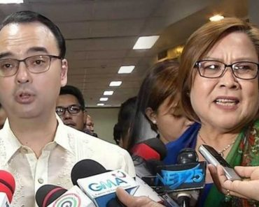 Cayetano Accuses De Lima of Being Biased