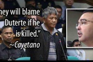 Cayetano Reveals LP Plot to Oust Duterte