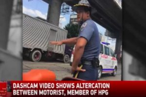 VIDEO: Police Officer Reportedly Slapped Female Driver on EDSA