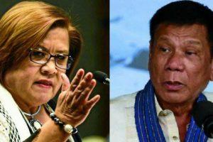 """De Lima Says Duterte's Anti-Drug Campaign a """"Martial Law Without Declaration"""""""